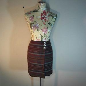🆕Vtg Navajo Wool Wrap Skirt